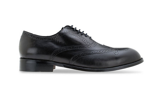 MAC & GILL LEATHER Oxfords Full Brogue - Black