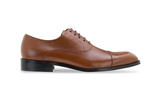 BROWN CAPTOE LEATHER LACE UP