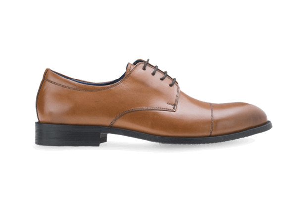 CAPTOE DERBY genuine leather shoes goodyear Welted