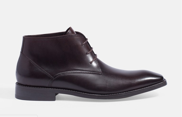 CHUKKA LEATHER ANKLE BOOTS MAC AND GILL