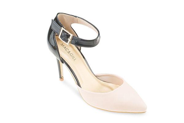 Kathleen Soft Shine Sandal - Baby Pink