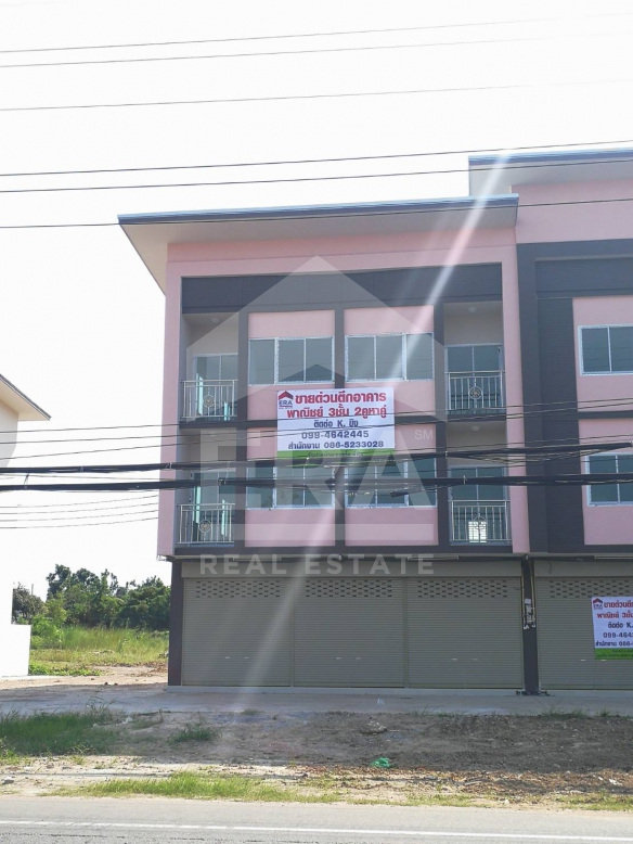 3 storey commercial building//บางเสร่