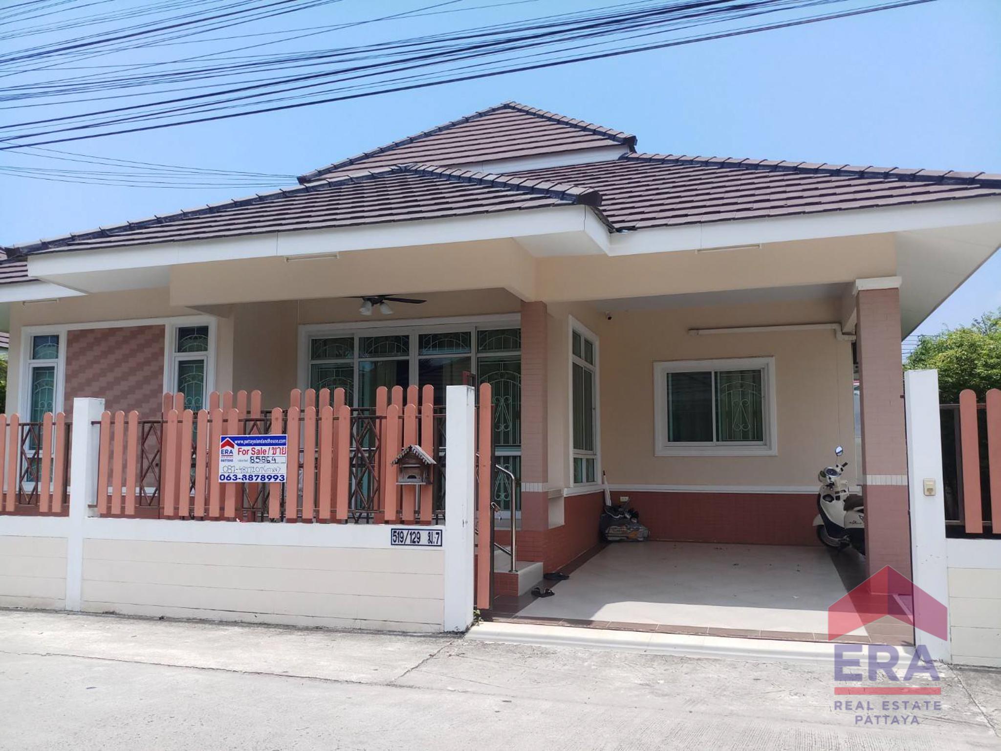 ขายด่วน (sale) บ้านเดี่ยว ชั้นเดียว หมู่บ้าน โชคชัยวิลเลจ10