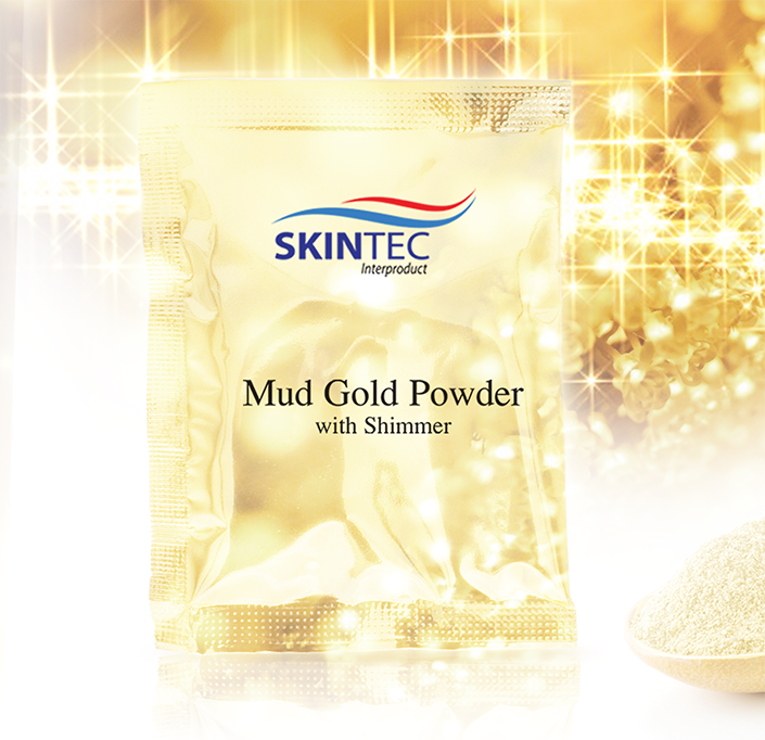 Mud Gold Powder with Shimmer