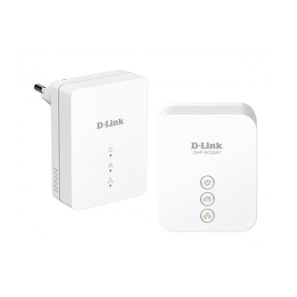 D-Link DHP-W221AV Powerline AV Wireless N150 Mini Extender Kit