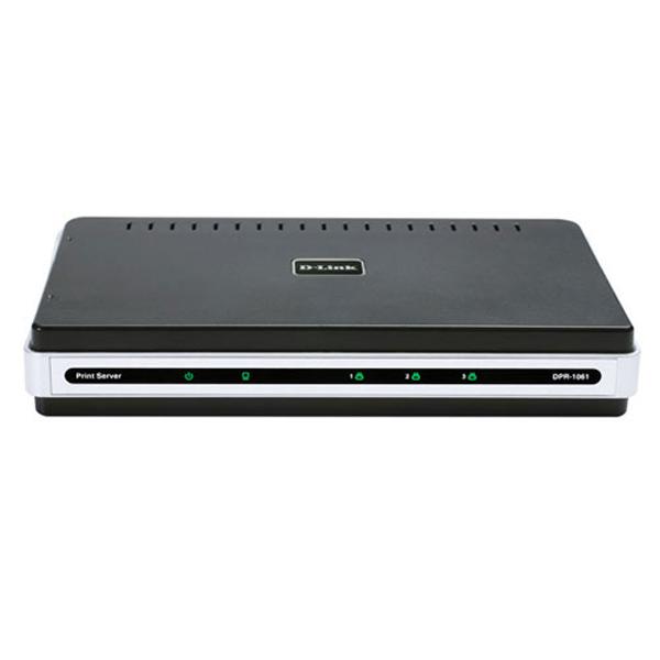 D-Link DPR-1061 Fast Ethernet USB+Parallel Print Server