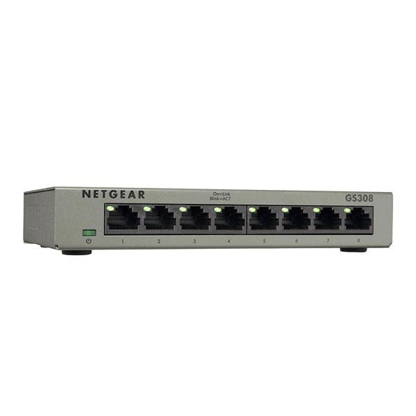 Netgear GS308 8-Port Gigabit Ethernet Switch
