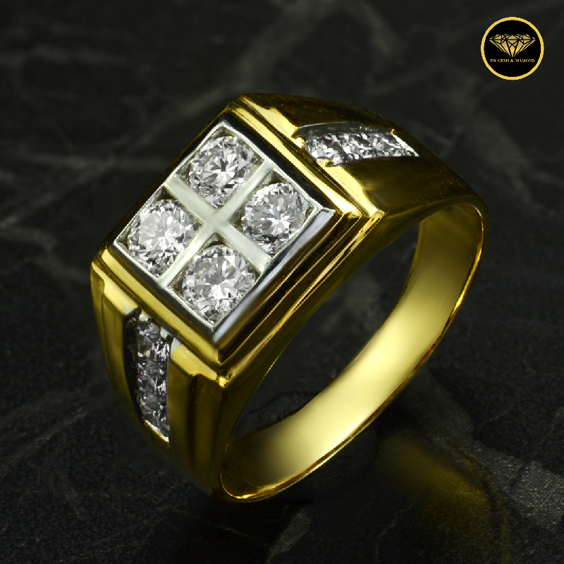 The man four square diamond R0020Y18KPW
