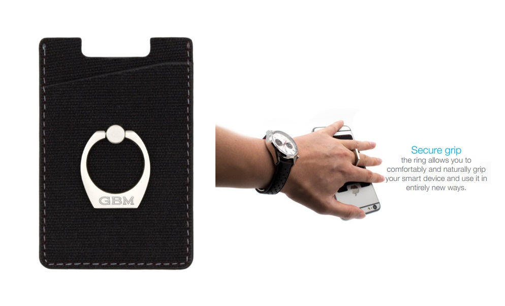 RFID Card Holder and Kickstand