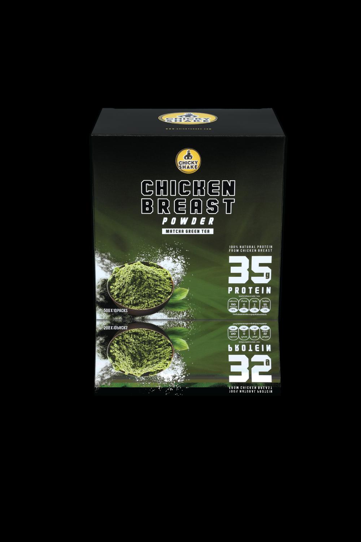 อกไก่ผงรสมัชฉะชาเขียว 1 กล่องบรรจุ 500 กรัม