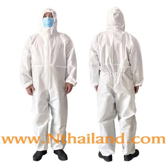 ชุด PPE Coverall
