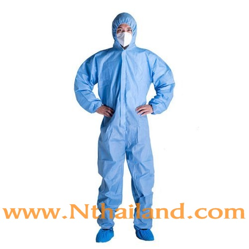 ชุดกาวน์ PPE เกรดทางการแพทย์