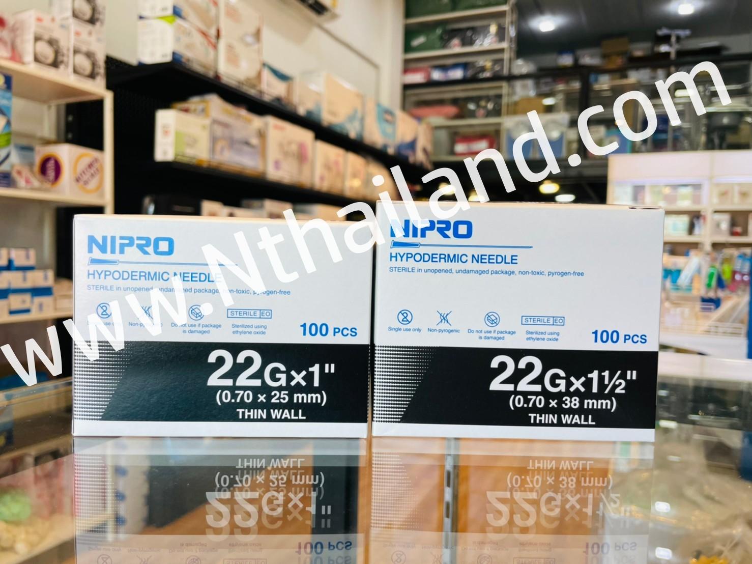 เข็มฉีดยา(NIPRO) เบอร์ 22