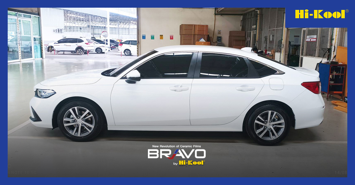 Honda Civic 2021 ติดตั้ง BO35 | BO15