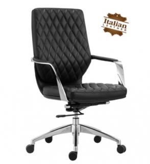 เก้าอี้สำนักงานหนังแท้