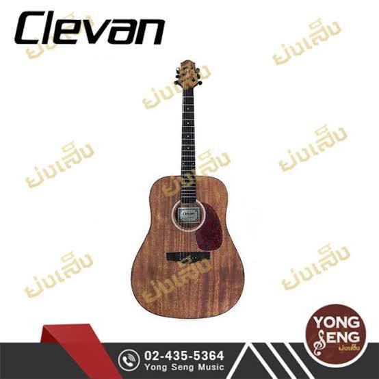 Clevan กีตาร์โปร่ง D-18 OP