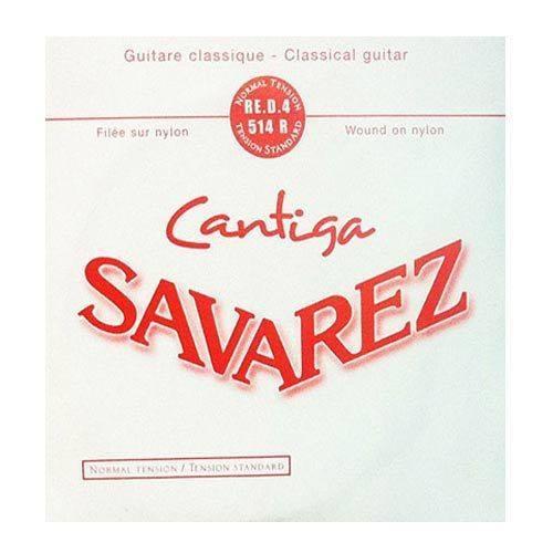 SAVAREZ สาย4 กีตาร์คลาสสิก (CRISTAL 510 CR,AR) รุ่น 514R