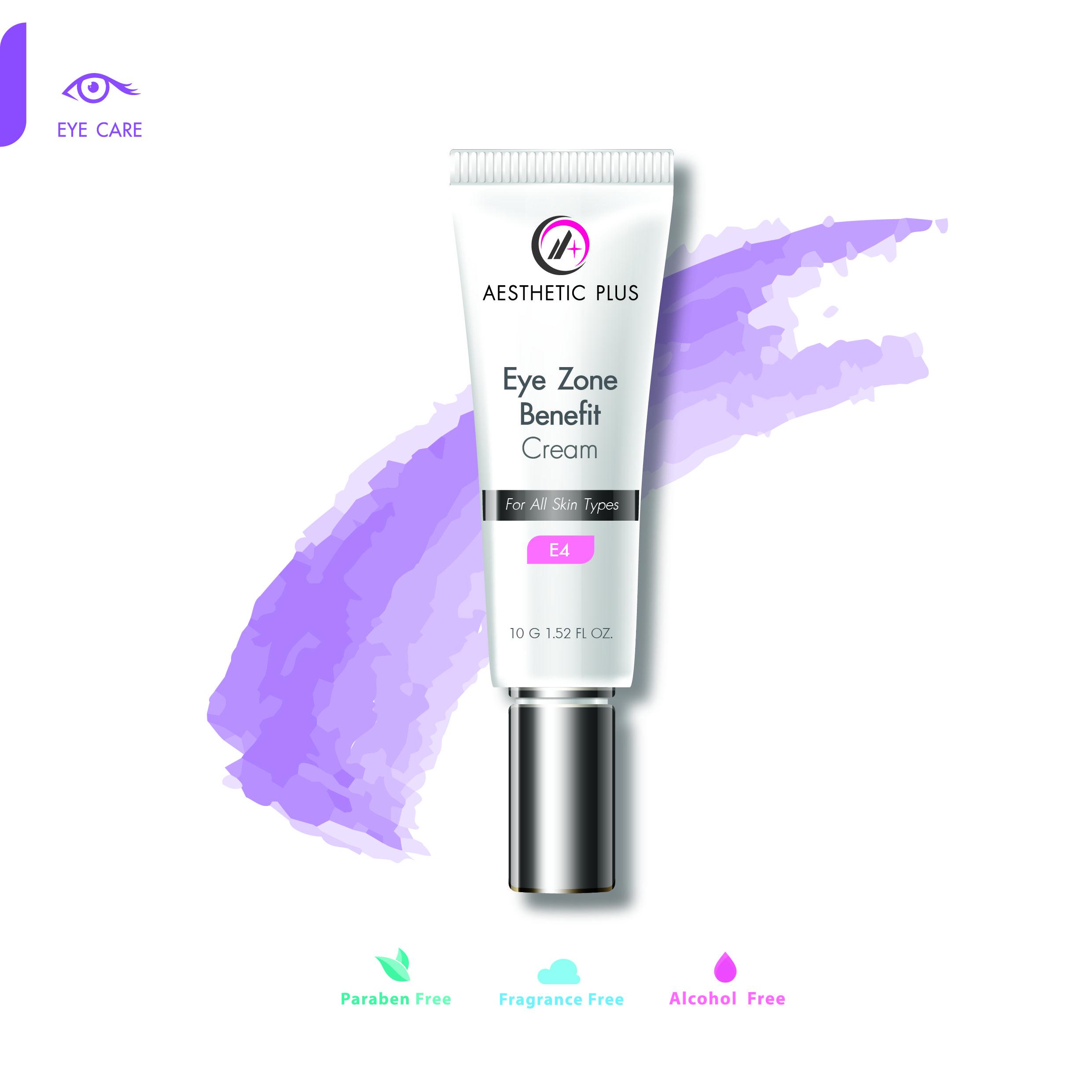 E4  :  Eye Zone Benefit Cream ครีมลดเลือนริ้วรอยรอบดวงตา & ถุงใต้ตา