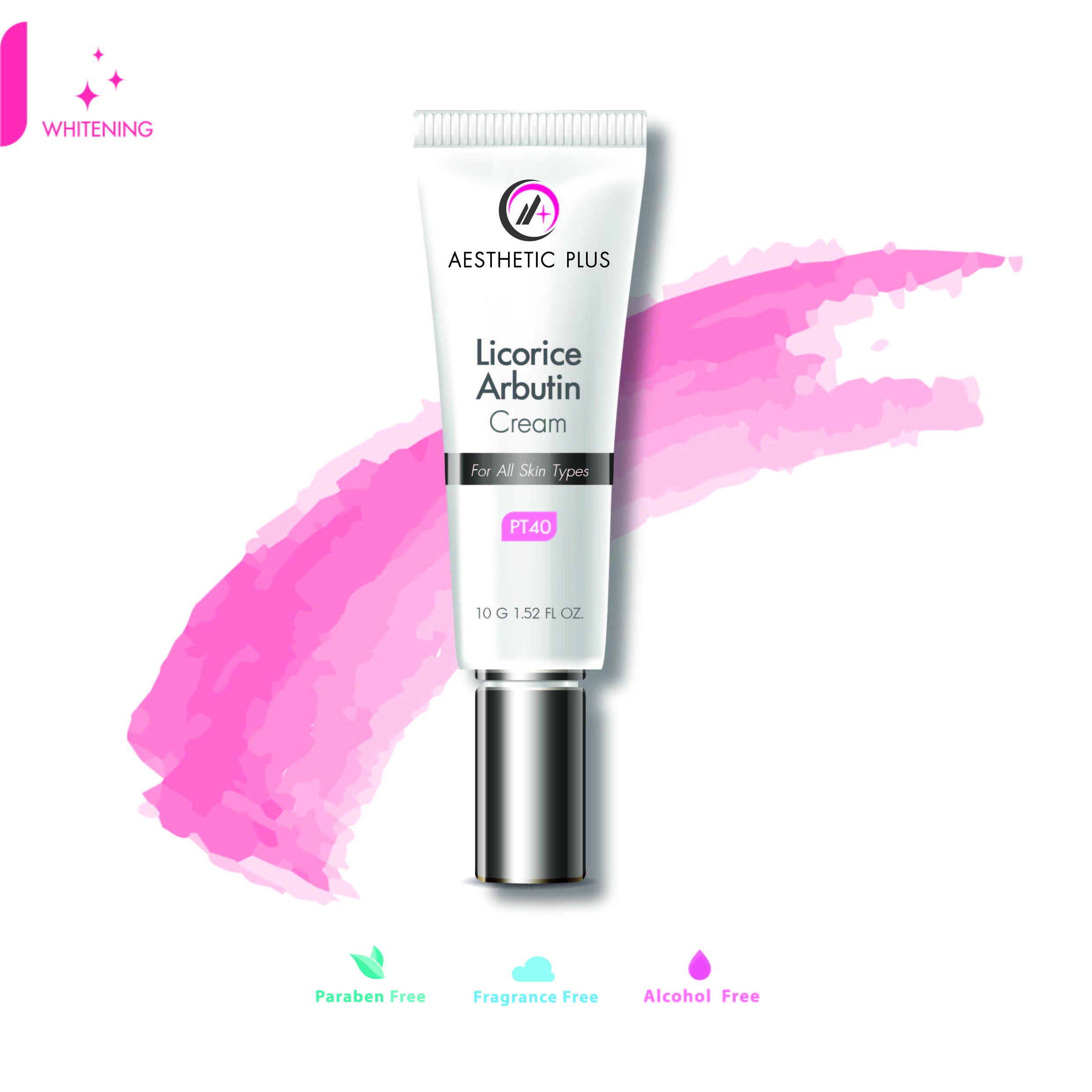 PT40  :  Licorice Arbutin Cream   ลิโคไรซ์ครีมเข้มข้น   / For all skin types