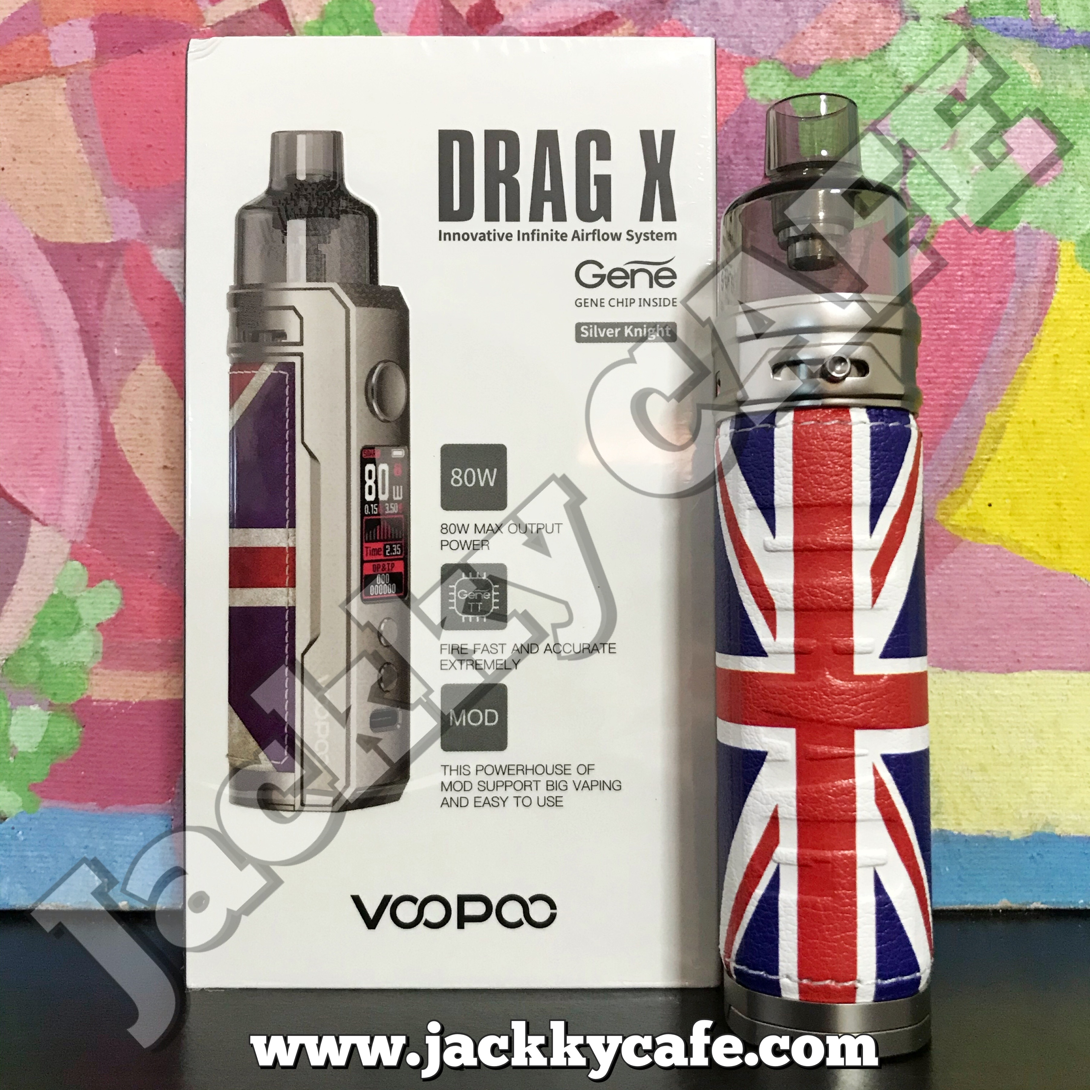Voopoo Drag X 80W (สีSilver Knight)