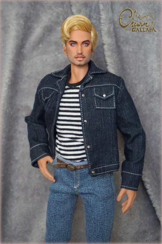 Jeans jacket ( *** Only US buyers please read our new shipping policy from ' Article - shipping available *** )