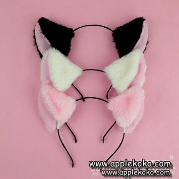 [[พร้อมส่ง]]  หูแมว หูแมวคอสเพลย์ แฟนซี cosplay คอสเพลย์ หูแมวแบบที่คาดผม