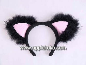 [[พร้อมส่ง]]  หูแมว หูแมวคอสเพลย์ แฟนซี cosplay คอสเพลย์ ที่คาดผม