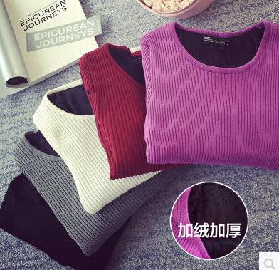 [[สินค้าขายแล้ว]] เสื้อแขนยาวด้านในบุขน สำหรับใส่ในฤดูหนาว