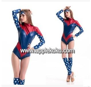 [[พร้อมส่ง]] ชุดแฟนซี cosplay แฟนซี คอสเพลย์ ชุดซุปเปอร์ฮีโร่ superhero