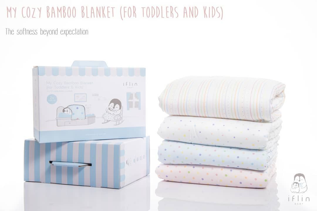 My Cozy  Bamboo Blanket (for Toddlers & Kids)