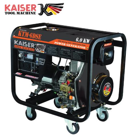 เครื่องปั่นไฟดีเซล 6.5 KW KAISER