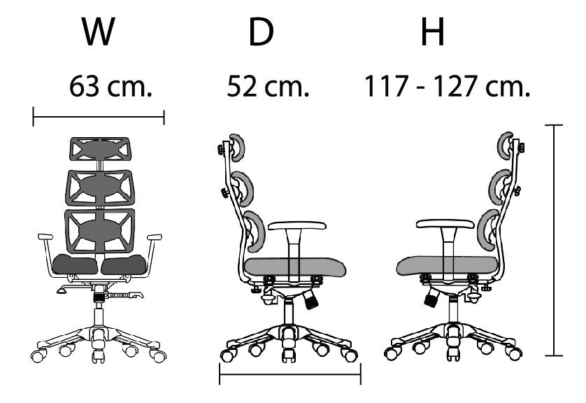 เก้าอี้เพื่อสุขภาพ  DOCTOR 2  3