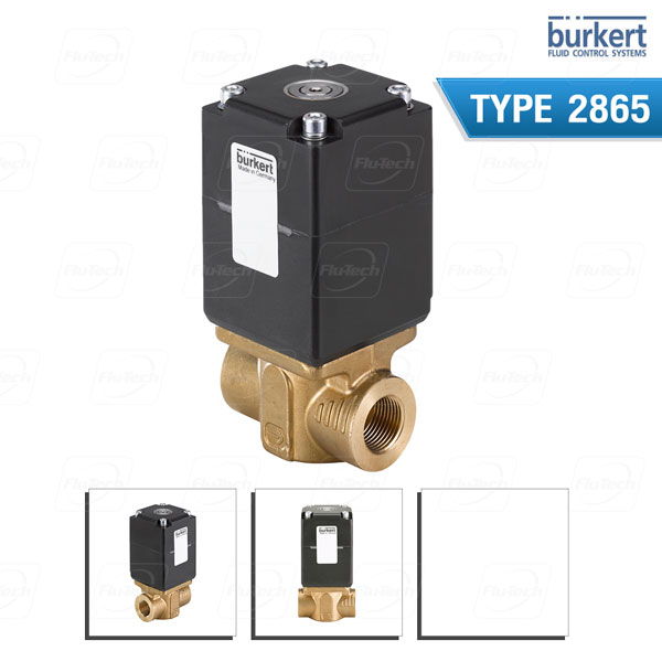 BURKERT TYPE 2865 - Direct-acting 2-way basic proportional valve