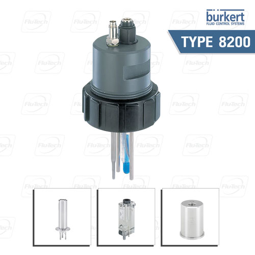 BURKERT TYPE 8200 - Armatures for analytical probes