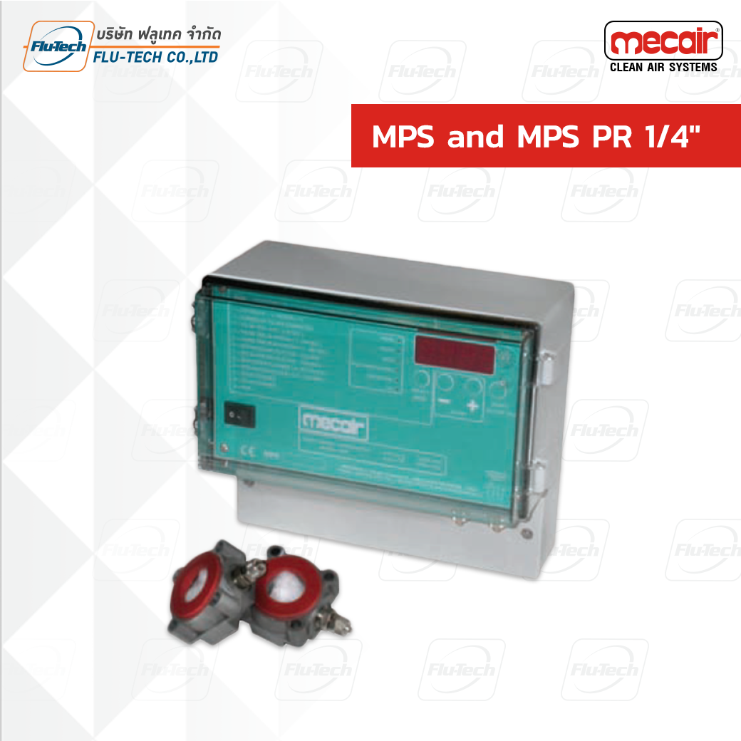 """MECAIR MPS and MPS PR 1/4"""""""