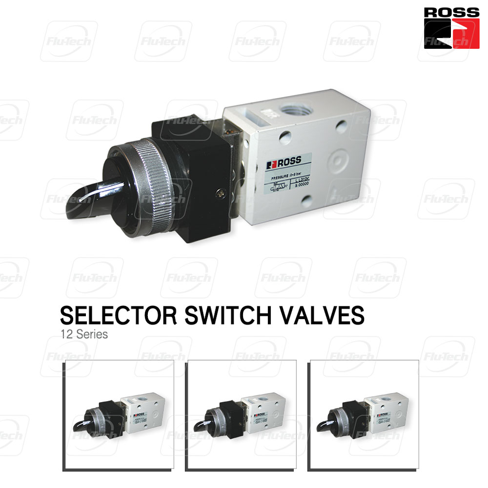 Selector Switch Valve - 12 Series