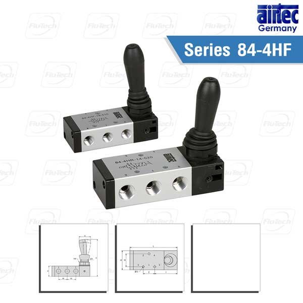 AIRTEC Series 84-4HF and 84-4HR