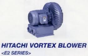 HITACHI Vortex Blower E2 Series เครื่องเป่าลม เครื่องดูดลม