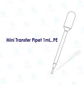 Mini Transfer Pipet 1mL.,PE