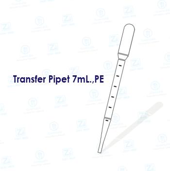 Transfer Pipet 7mL.,PE