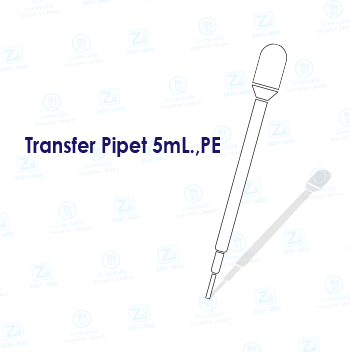Transfer Pipet 5mL.,PE