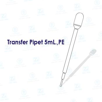 Transfer Pipet 5mL.,PE