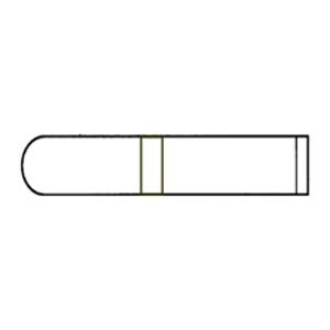 Test Tube 13x75mm.,PS.(Big Pack)
