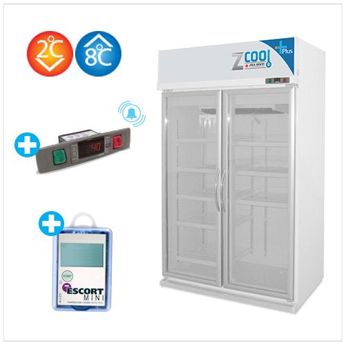 Z-Cool PLUS 2-8 ํC, 2D Refrigerator 2D + Alarm