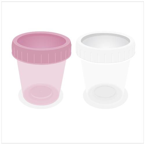 Screw Cap Urine Cup 60ml ขนาดบรรจุ 500 pcs.