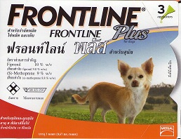 Frontline Plus สุนัขพันธุ์เล็ก กำจัดเห็บหมัด
