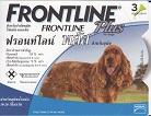 Frontline Plus สุนัขพันธุ์กลาง กำจัดเห็บหมัด