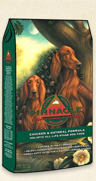 อาหารสุนัข Pinnacle Chicken & Oat Meal สูตรเนื้อไก่&โอตมีล ขนาด 24 ปอนด์ 10.9 กก.
