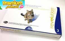 Revolution สำหรับแมว (1 กล่อง)  กำจัดเห็บหมัด
