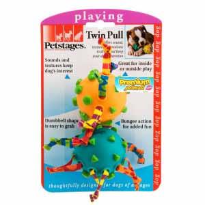 ของเล่นสุนัข Pet Stages Twin Pull
